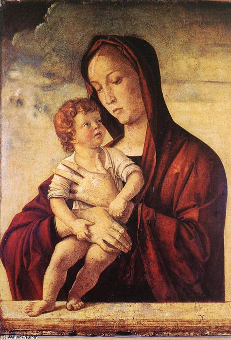 Wikioo.org - The Encyclopedia of Fine Arts - Painting, Artwork by Giovanni Bellini - Madonna with Child