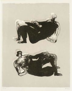 Two Reclining Figures 7