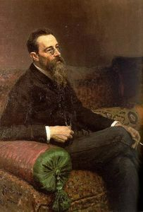 Portrait of the Composer Nikolay Rymsky-Korsakov