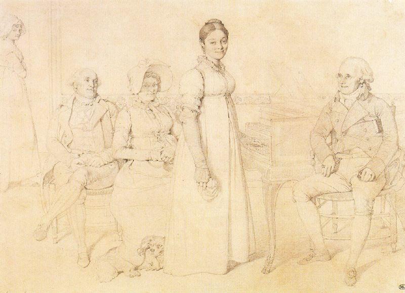 Bagno Turco Ingres : Ritratto del forestier famiglia jean auguste dominique ingres
