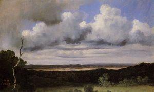 Fontainebleau, Storm over the Plains