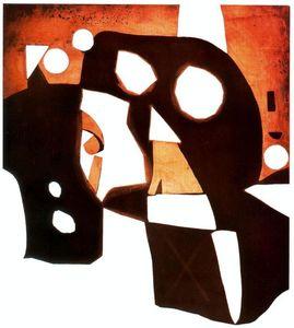 Planxa de coure corresponent al núm. 15 de la sèrie Gaudí
