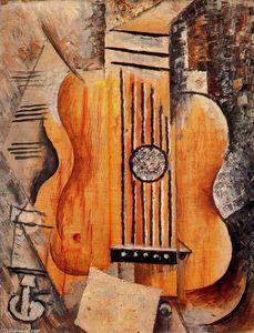 Guitarra ''J'aime Eva''