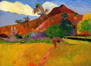 Mountains in Tahiti