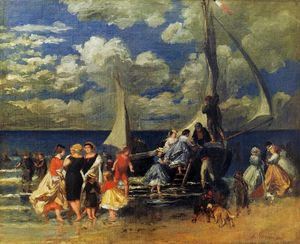 The Return of the Boating Party