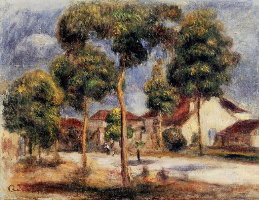 Wikioo.org - The Encyclopedia of Fine Arts - Painting, Artwork by Pierre-Auguste Renoir - The Sunny Street
