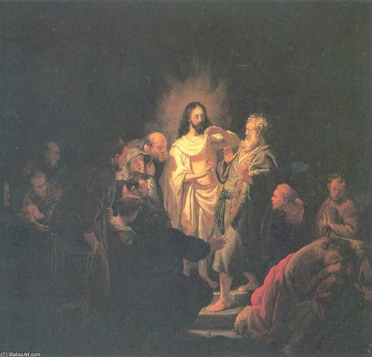 Wikioo.org - The Encyclopedia of Fine Arts - Painting, Artwork by Rembrandt Van Rijn - Christ Resurected