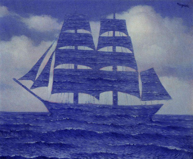 Wikioo.org - The Encyclopedia of Fine Arts - Painting, Artwork by Rene Magritte - The seductive