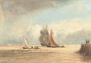 Shipping Off Gravesend