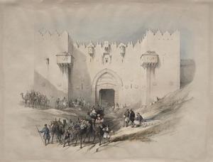Gate Of Damascus, Jerusalem