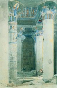 Under the Grand Portico of Philae