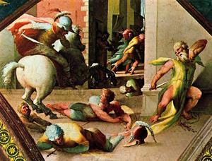 The suicide of Cato Utica