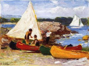 Canoes and Sailboats