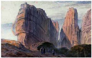 The Monastery Of Baarlam, Meteora