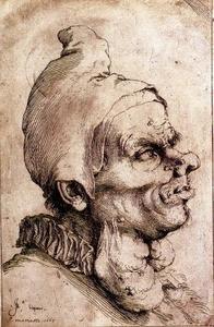 Grotesque head 1