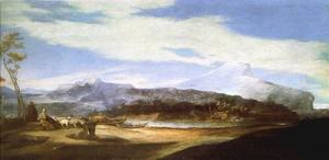 Landscape with Shepherd