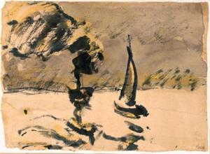 Steamers and sailing boat