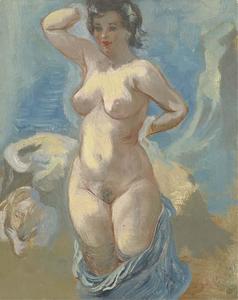 Standing nude 1