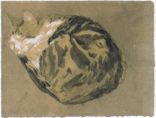 Wikioo.org - The Encyclopedia of Fine Arts - Painting, Artwork by Gwen John - Cat 2