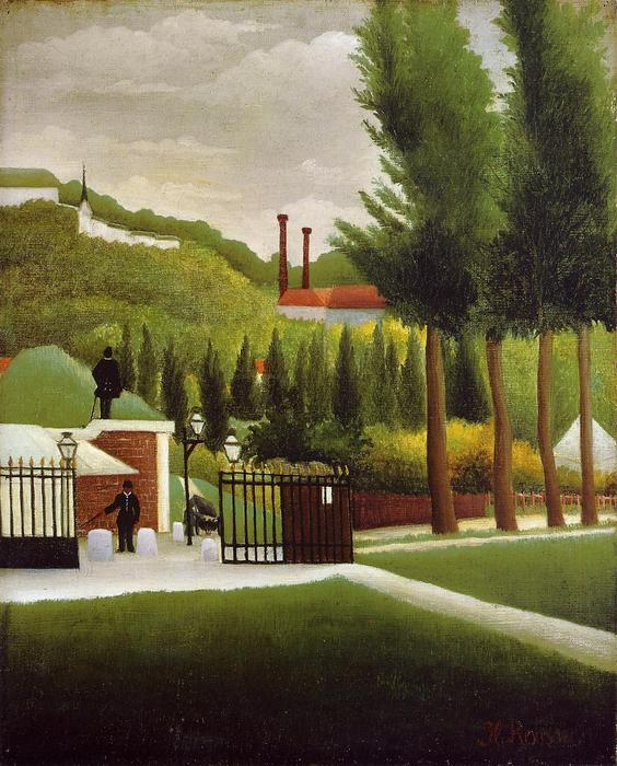 Wikioo.org - The Encyclopedia of Fine Arts - Painting, Artwork by Henri Julien Félix Rousseau (Le Douanier) - The Customs House