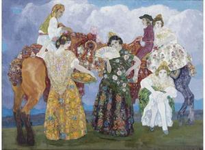 Valencian girls (Grupas Valencianas)