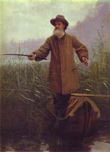 Poet Apollon Maikov Fishing