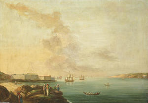 View of the Dardanelles