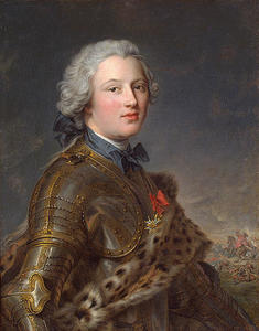 Portrait of Pierre-Victoire, Baron of Besenval