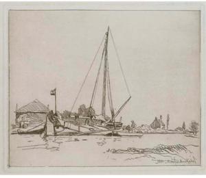 Nourrice; Boat moored