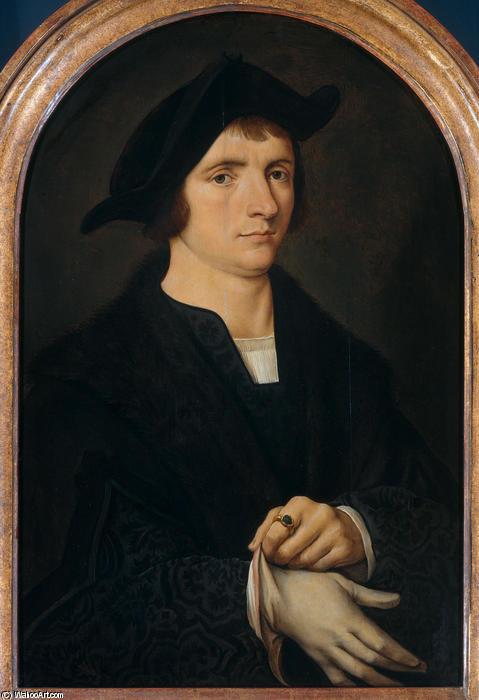 Wikioo.org - The Encyclopedia of Fine Arts - Painting, Artwork by Joos Van Cleve - Joris W. Vezeler