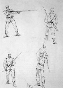 Bayonet Fencing