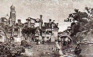 a `larghetto` in venecia