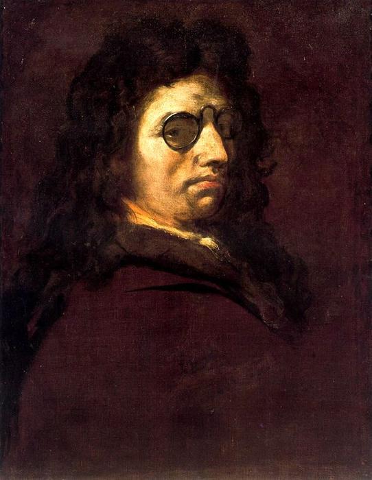 WikiOO.org - Encyclopedia of Fine Arts - Maľba, Artwork Luca Giordano - Self-portrait 3