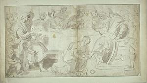 The Anointing of Christ's feet