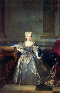 Portrait of Princess María Ana Victoria