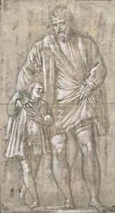 Giuseppe da Porto and his son Adriano