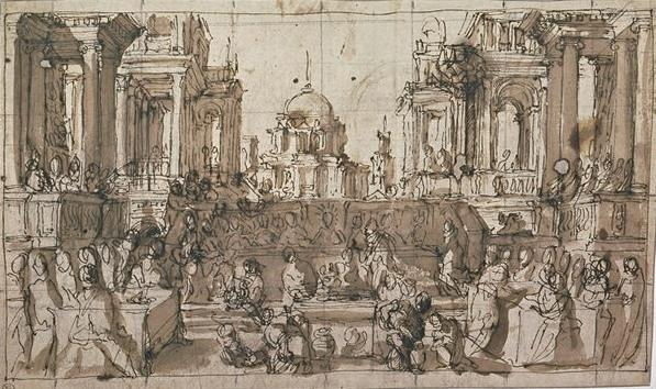 Wikioo.org - The Encyclopedia of Fine Arts - Painting, Artwork by Paolo Veronese - The Wedding at Cana