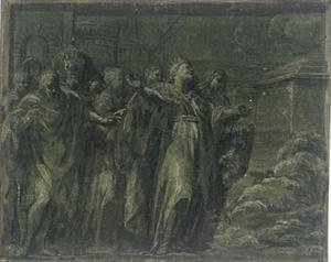 Scene of ancient sacrifice
