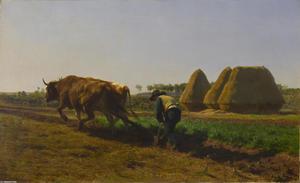 Ploughing Scene