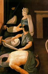 Soldiers Washing