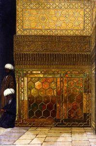 Corner in the Gur-Emir Mausoleum