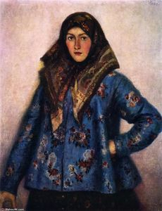 Cossack Girl (also known as L. Motorina)