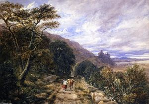 A Country Track Leading to Harlech Castle