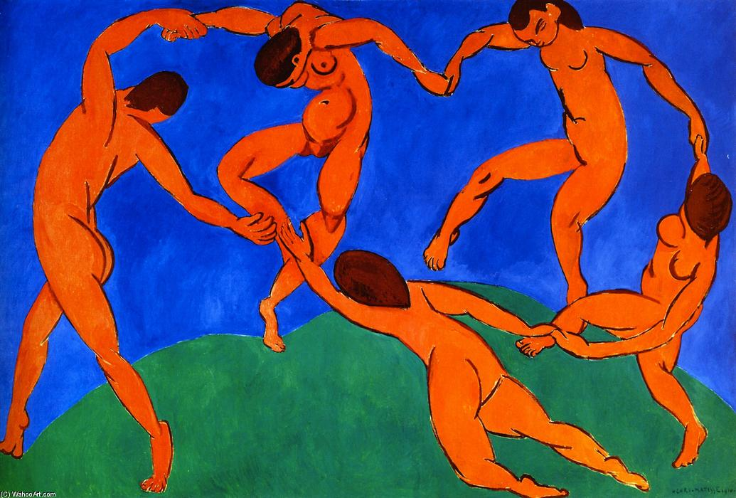 Wikioo.org - The Encyclopedia of Fine Arts - Painting, Artwork by Henri Matisse - The Dance