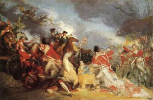 The Death of General Mercer at the Battle of Princeton (unfinished version)