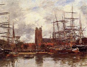 Dordrecht, View of the Port