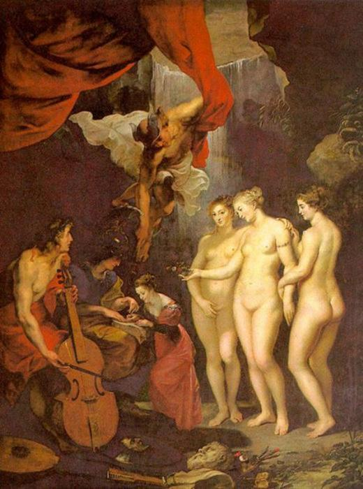 Wikioo.org - The Encyclopedia of Fine Arts - Painting, Artwork by Peter Paul Rubens - Education of Marie de Medici