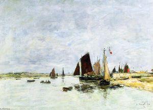 Etaples, Boats in Port