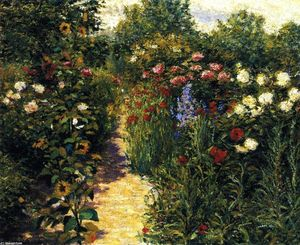 Garden at Giverny (also known as In Monet's Garden)