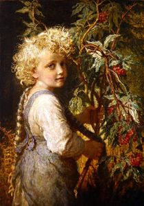 Gathering Red Berries